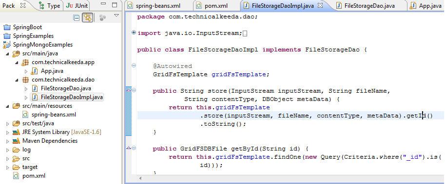 Store Retrive and Query Image File Using Mongodb GridFs And